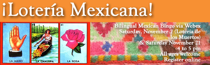 Play Mexican bingo at the Library!