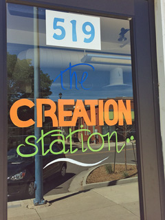 The Creation Station building opened summer 2015.
