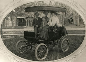 The Callahan's First Automobile