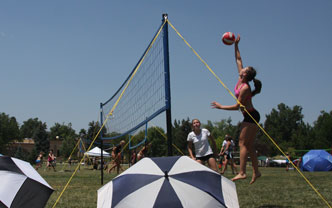 Adult Outdoor Volleyball