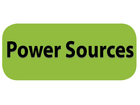 Electric energy sources button for Kids Page