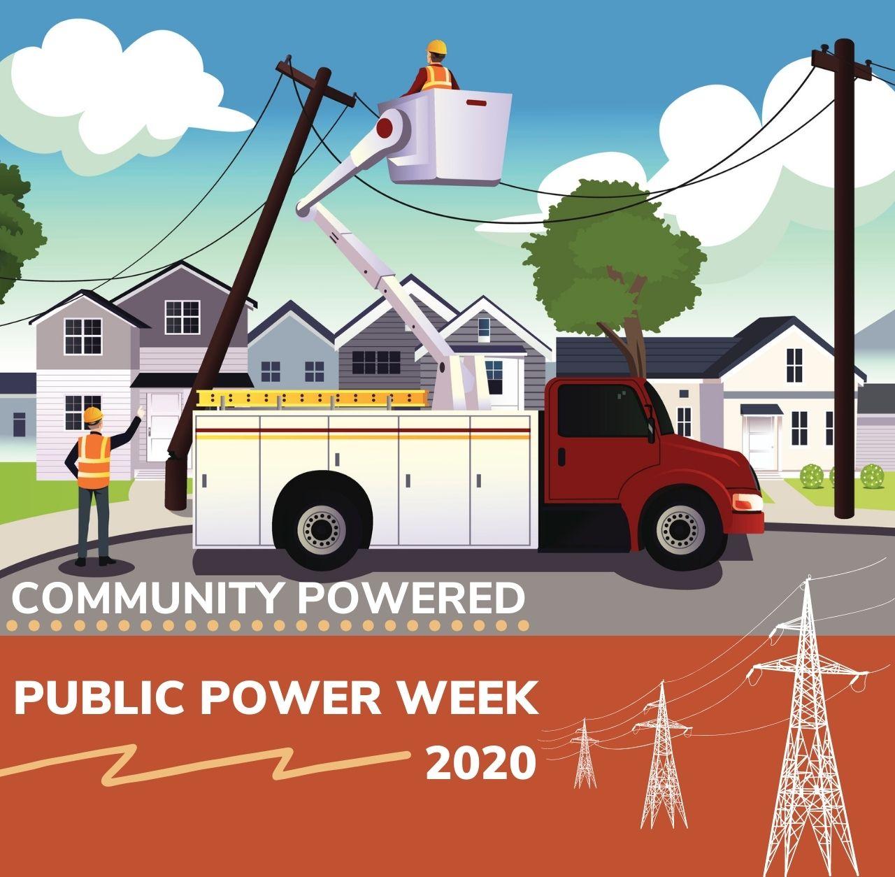 Community Powered 2019 Public Power Week