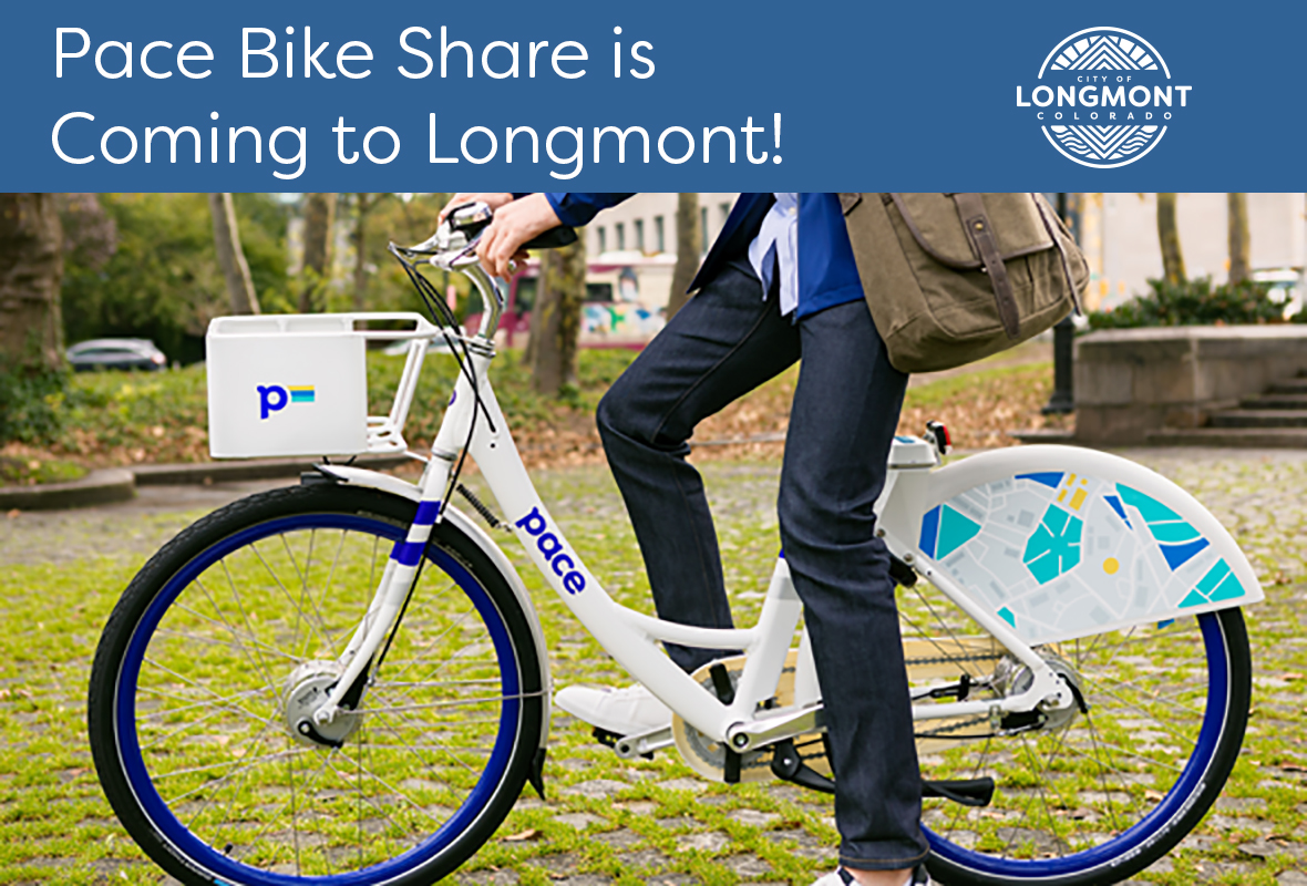 Pace Bike Share is Coming to Longmont