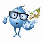 H2O Joe and Flo Mascots