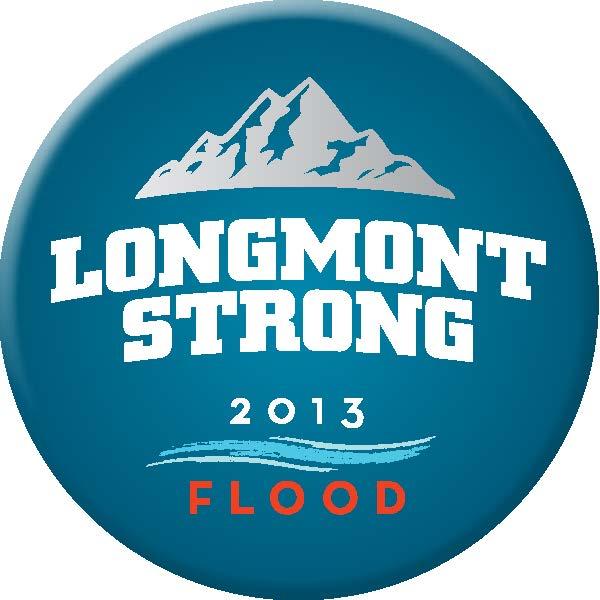 Longmont Strong button