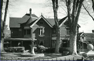 Historic photo of Callahan House