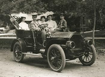 Callahan Family, Pierce Arrow, 1904